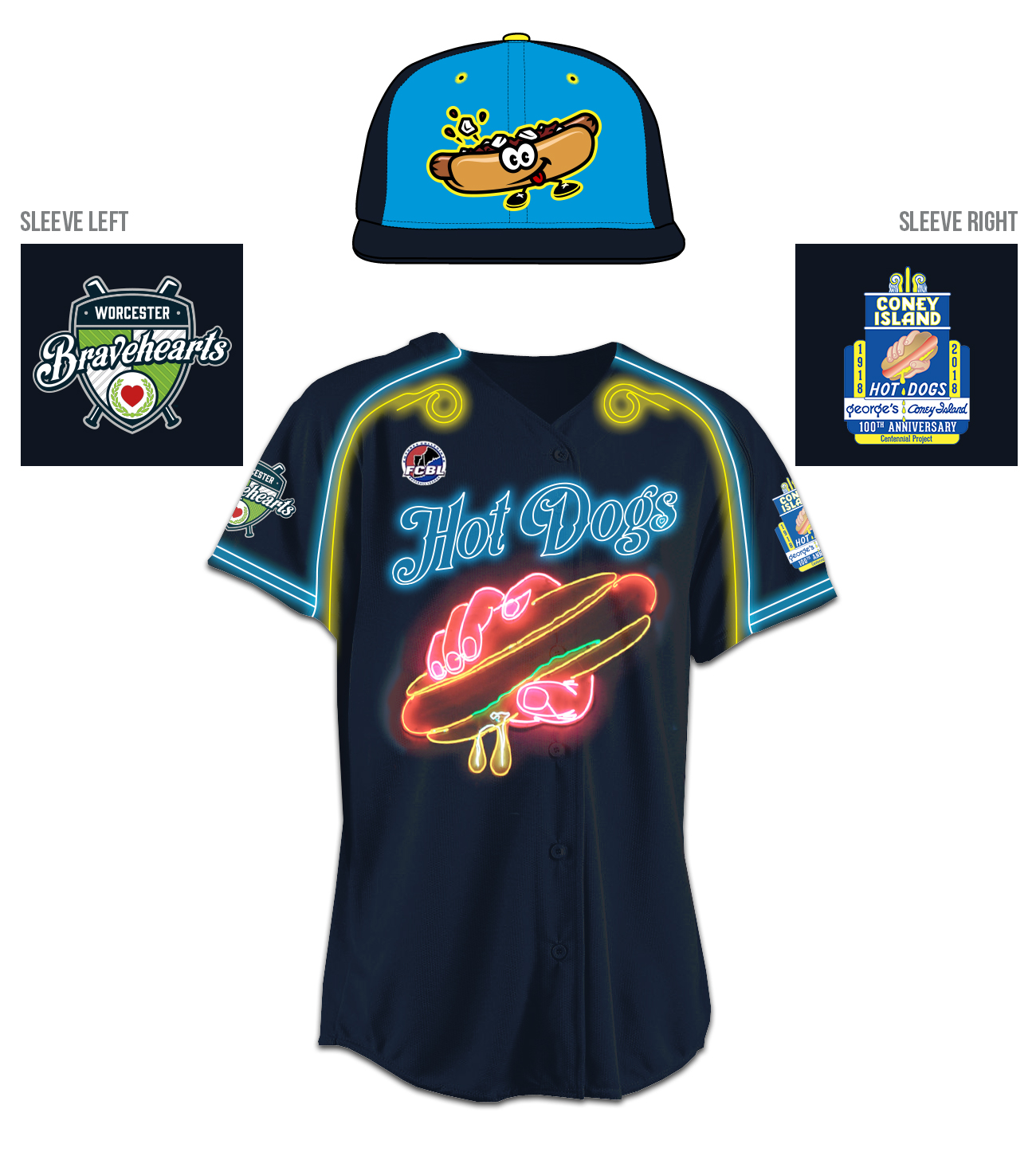 Potential Hot Dogs Uniform